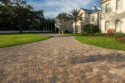 reclaimed brick pavers in Naples FL